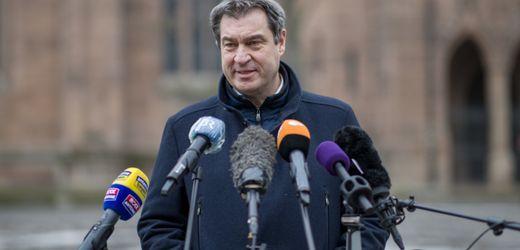 Corona-Shutdown: Markus Söder gegen Verschärfungen