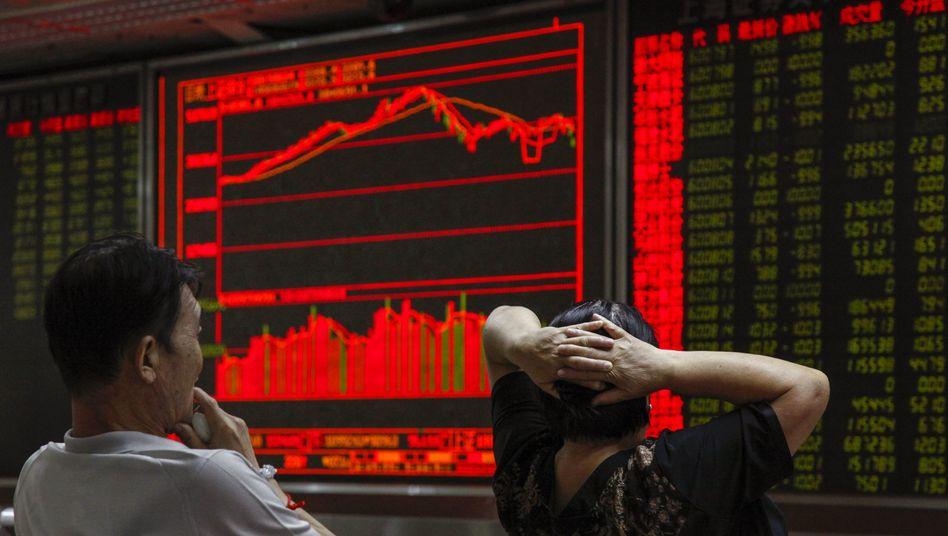 Börsenabsturz in China: Der Kontrollverlust