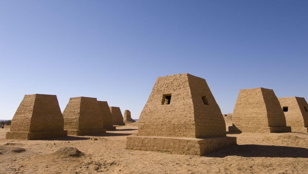 Mysteriöse Bauten der Garamanten: Ruinen im Sandmeer