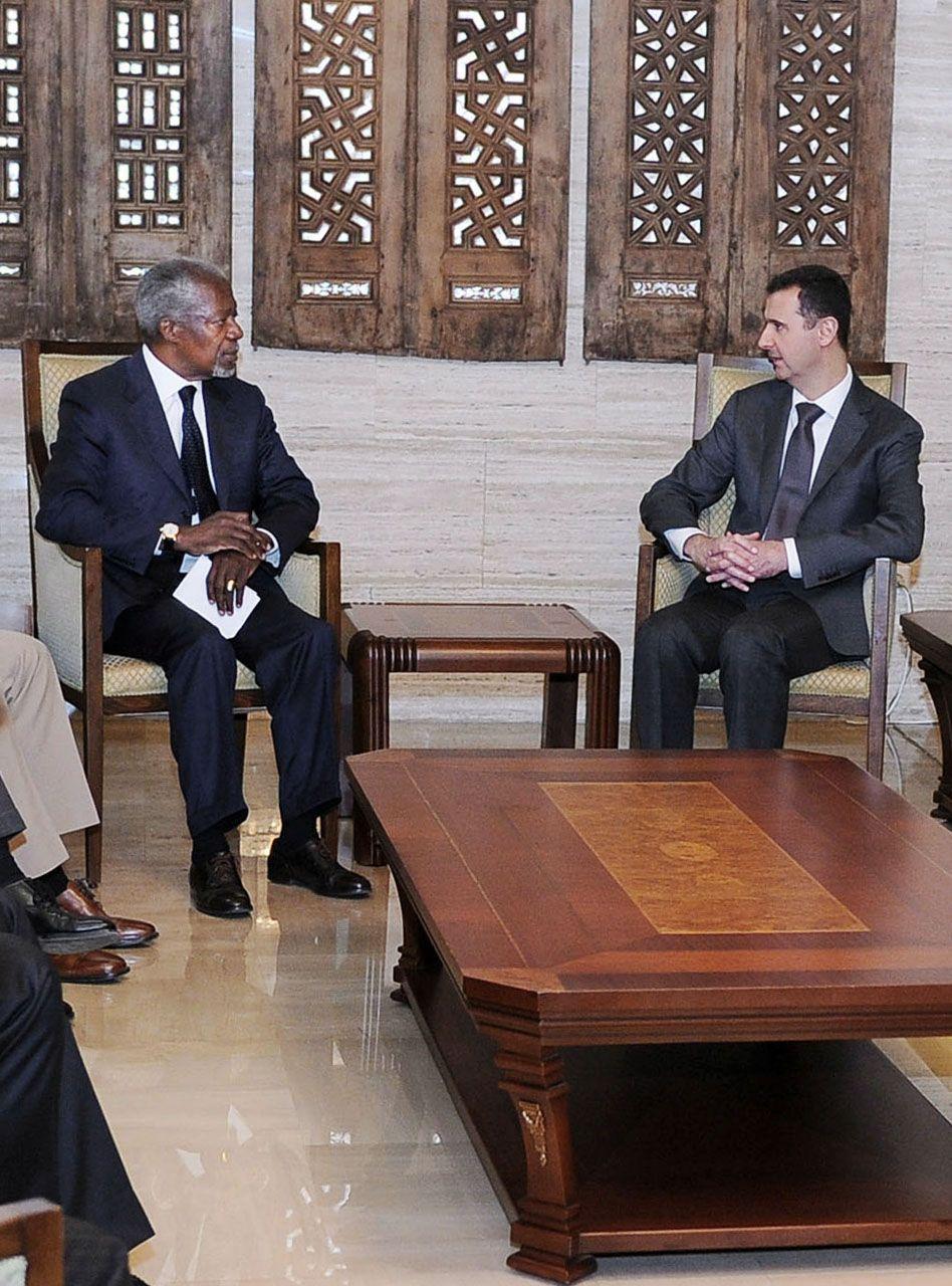Annan/Assad/Syrien