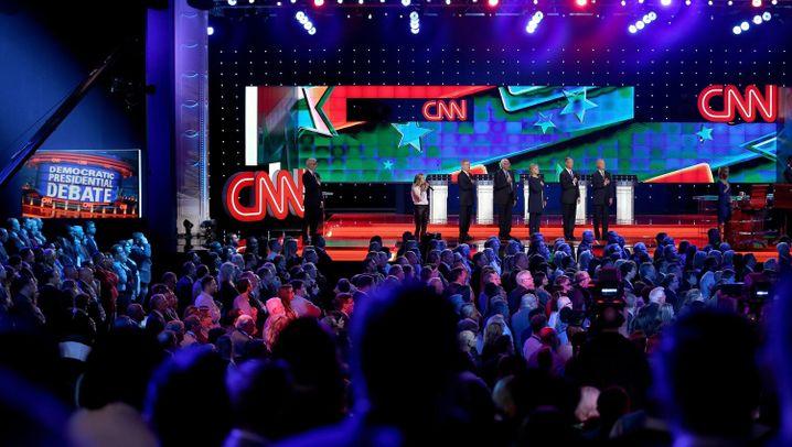 """Debatte der US-Demokraten: """"Lasst uns über die echten Themen sprechen"""""""