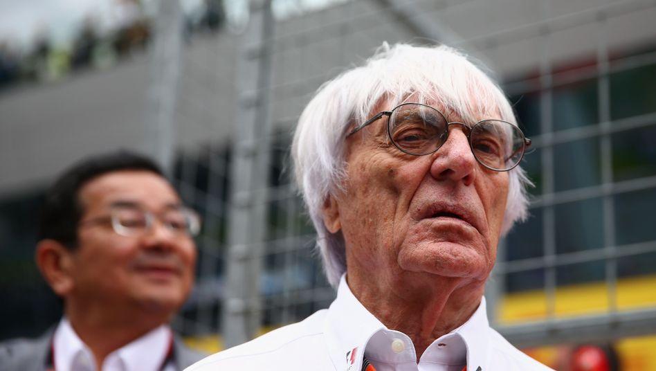 """Formel-1-Geschäftsführer Ecclestone: """"Wir beschädigen sie selbst"""""""