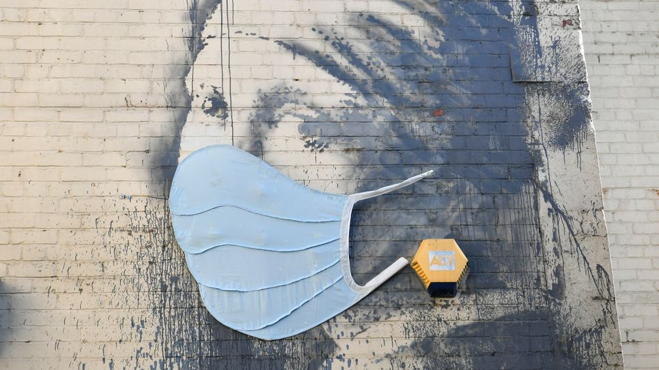 Banksy-Gemälde in Bristol, Großbritannien