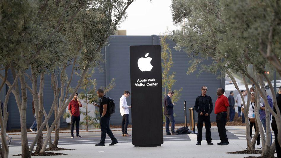 Apples Besucherzentrum in Cupertino, USA