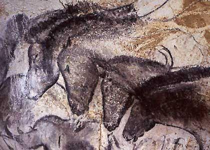 Tierdarstellungen in der Chauvet-Höhle