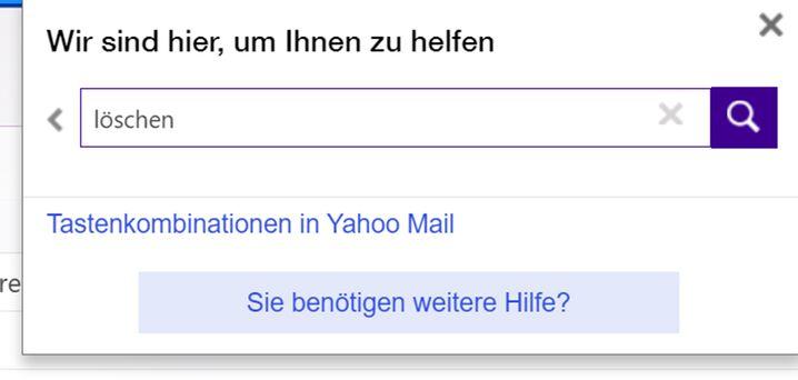 """""""Hilfe""""-Funktion im Mailprogramm: Nicht die Infos, die man sucht"""