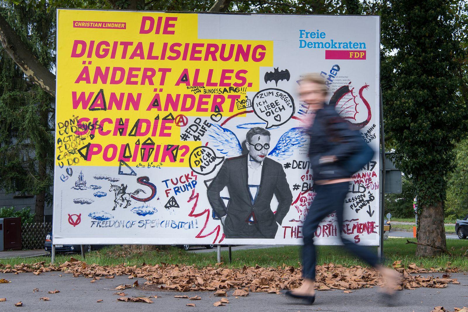 FDP/ Wahlplakat
