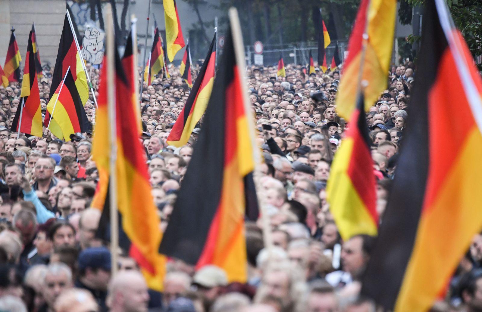 """""""Trauermarsch"""" in Chemnitz"""