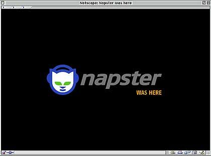 Längst tot, aber immer noch ein Quell gefährlicher Kontroversen: Napster-Website nach dem Ende des Musiktausches