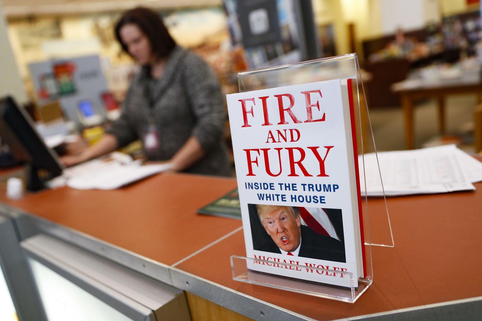 """Enthüllungsbuch """"Fire and Fury"""""""