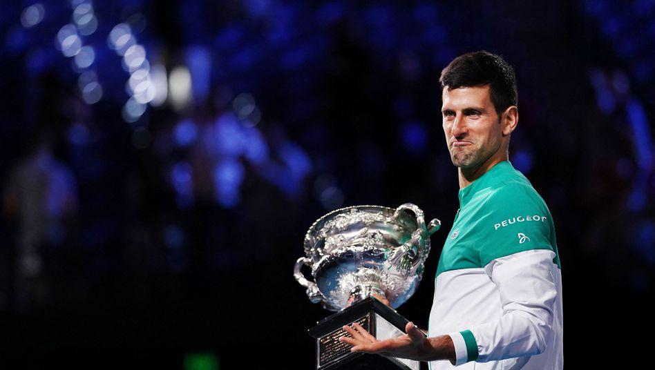 Novak Djokovic hält viele Rekorde inne, zu den beliebtesten Tennisprofis gehört er aber nicht