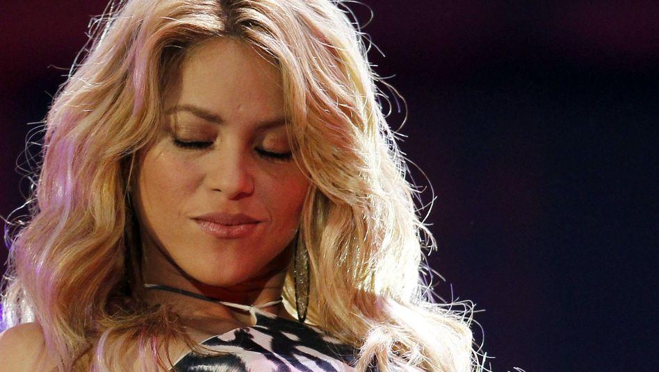 Kolumbianische Sängerin Shakira: Cómo se llama, bonita?