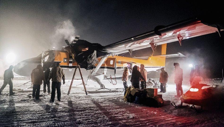 Twin-Otter-Einsatz am Südpol: Schicksalsschwere Entscheidung am Point of no Return