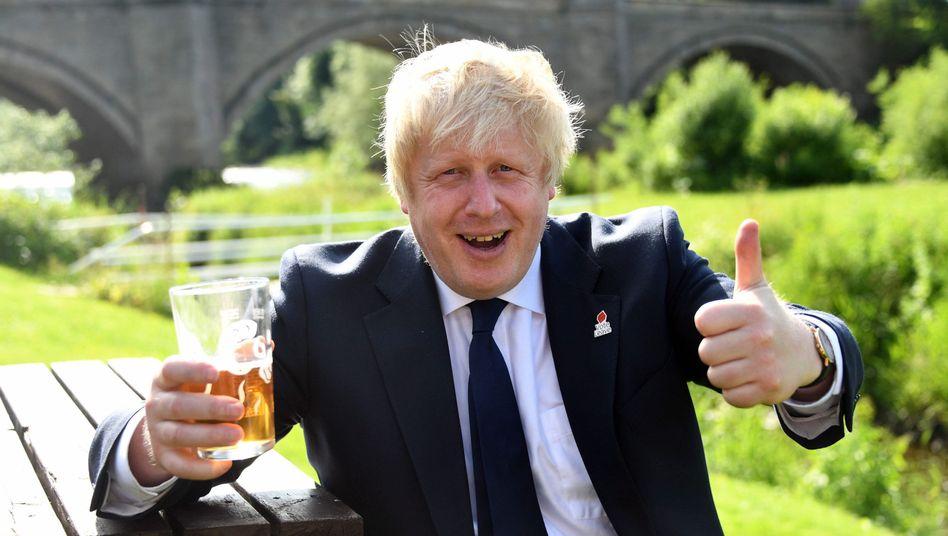 Leave campaigner Boris Johnson