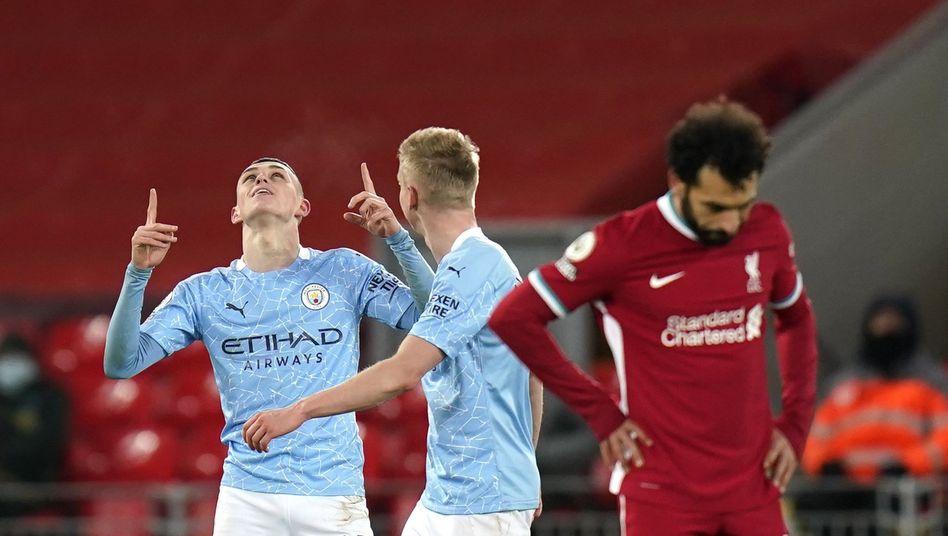 Manchester City bittet offenbar schon um Beistand von oben für die Super League