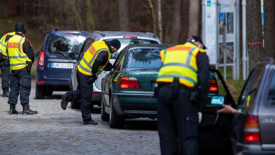 Polizeikontrollen in Neustrelitz Mecklenburg-Vorpommern