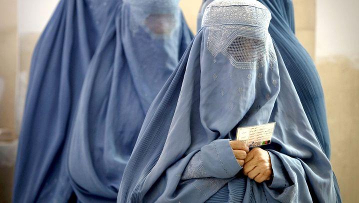 Verschleierte Frauen: Formen der Verhüllung