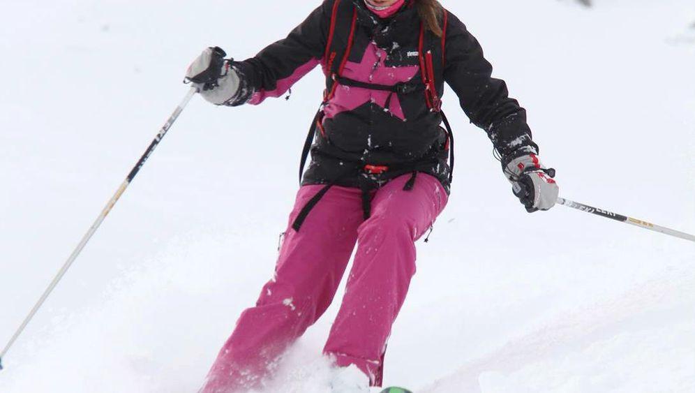 Anna Achilles: Heli-Skifahren als Familienausflug
