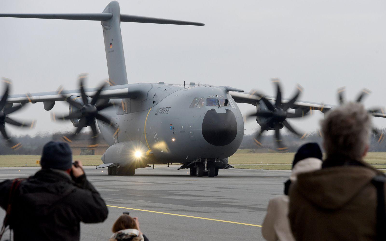 A400M Luftwaffe startet zum Syrieneinsatz