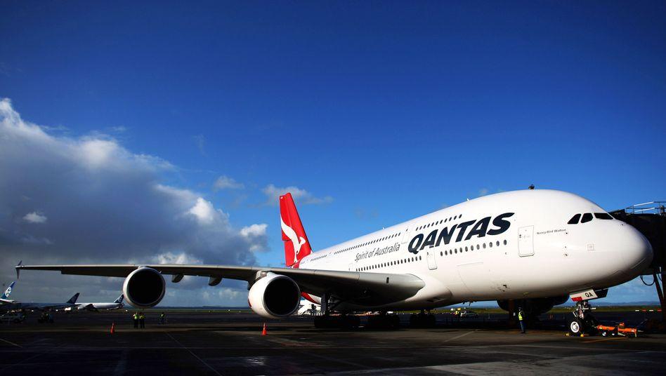 Qantas A380 (Archiv)