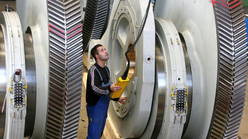 Maschinenbau in Erfurt: Koalitionsrunde will mit besseren Zahlen rechnen