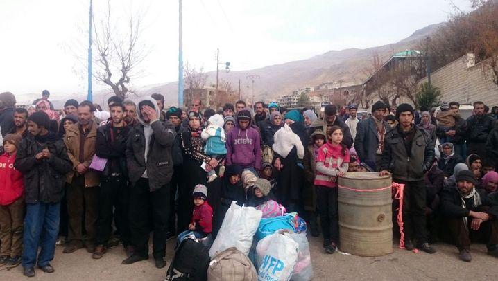 Syrisches Madaja: Eine Stadt hungert