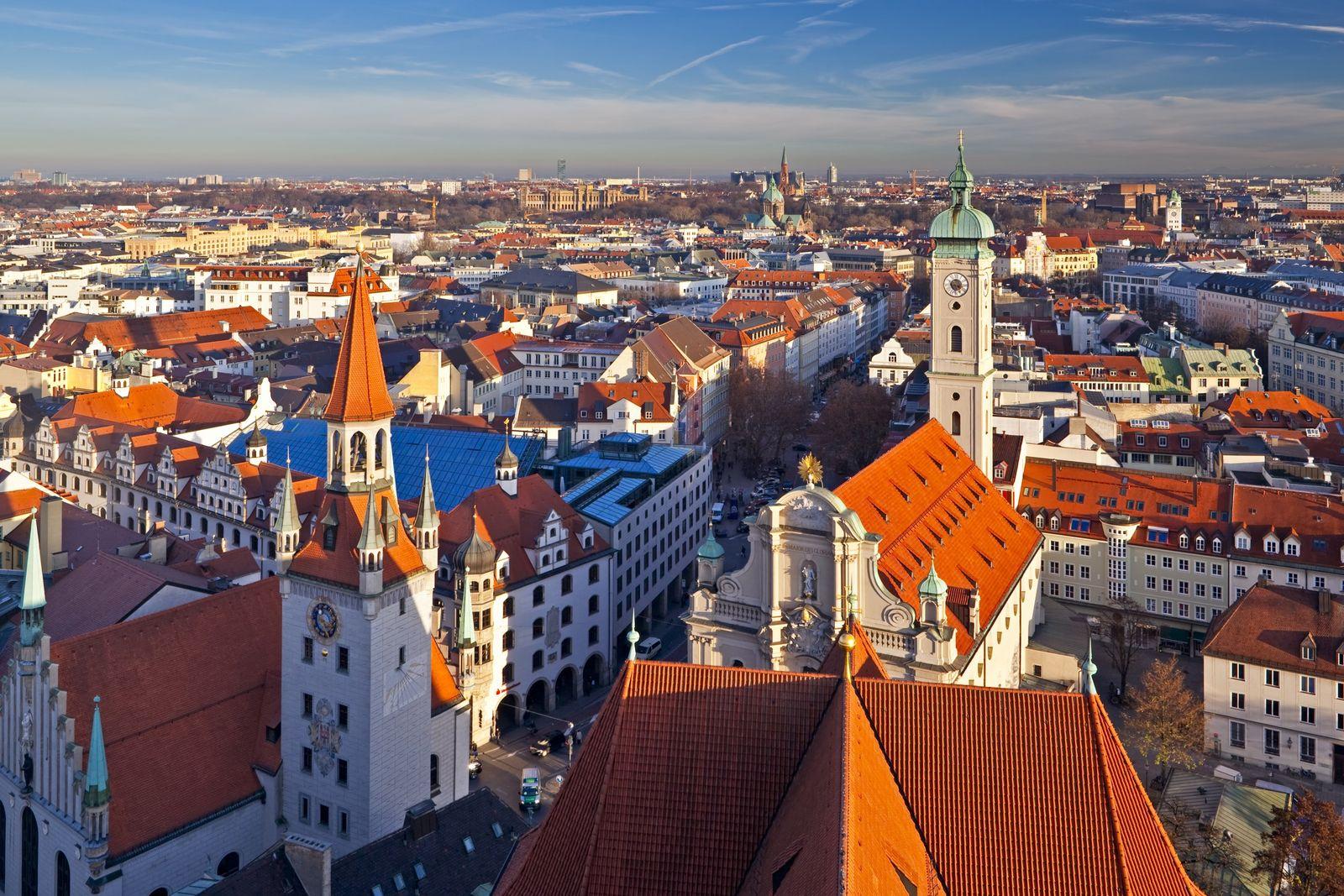 NICHT MEHR VERWENDEN! - München / Stadtansicht