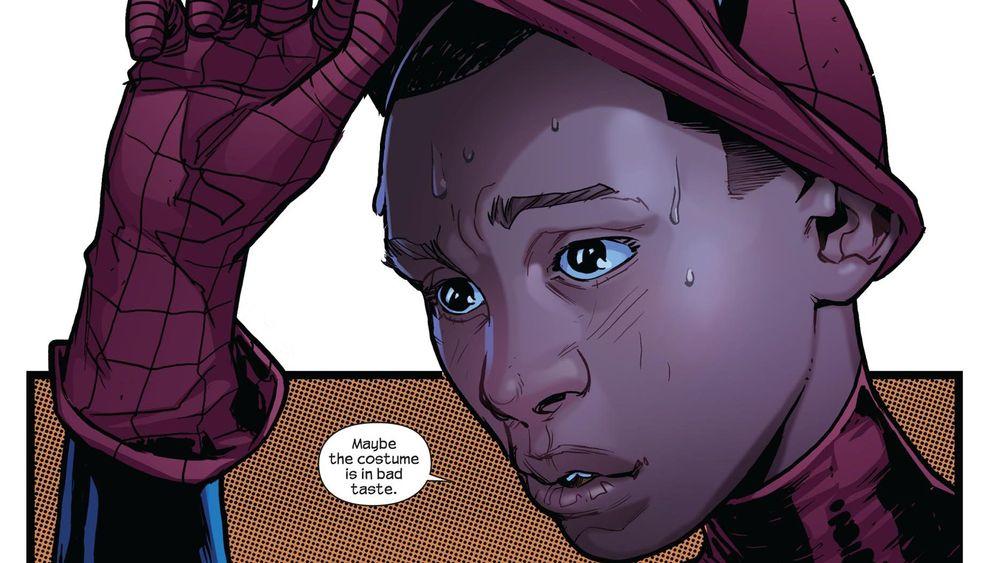 Spiderman als Afroamerikaner: Back in Black