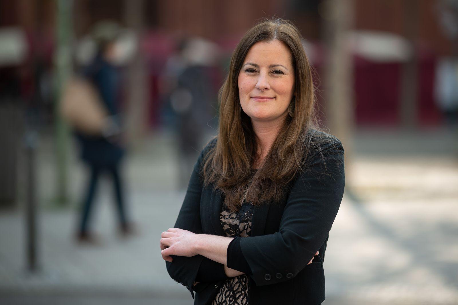 Hessiche Linke-Fraktionschefin Janine Wissler