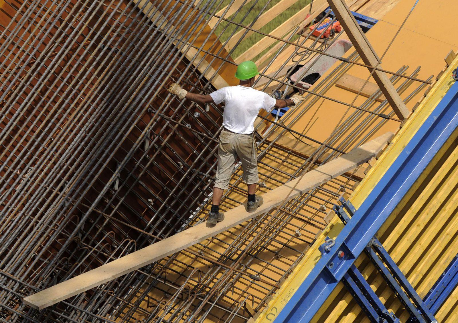 Konjunktur / Bauarbeiter