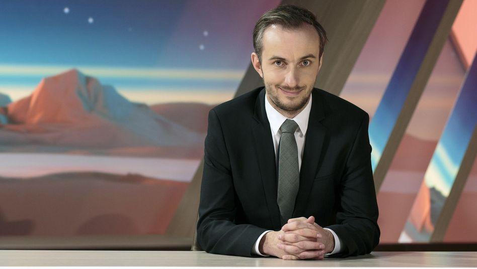 Moderator Jan Böhmermann