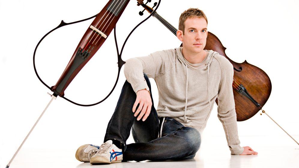 Cellostar Moser: Marsch, marsch auf die Spitze