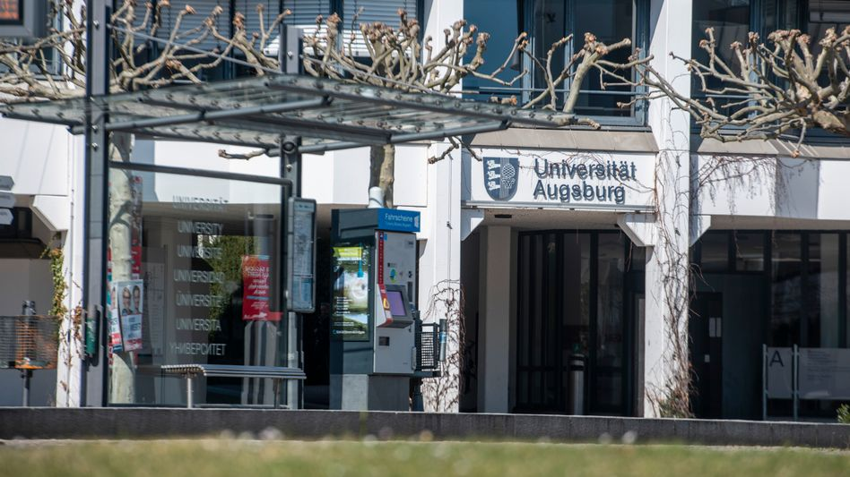 Campus der Uni Augsburg