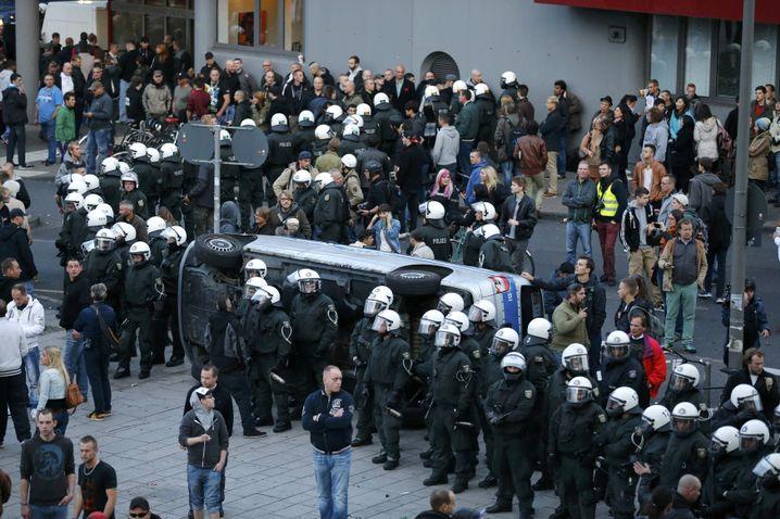 Hogesa-Demo: Eskalation in Köln