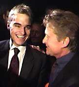 Lars Windhorst in besseren Tagen: Mit Hollywoodstar Michael Douglas hatte der Jungunternehmer einst eine Filmfirma