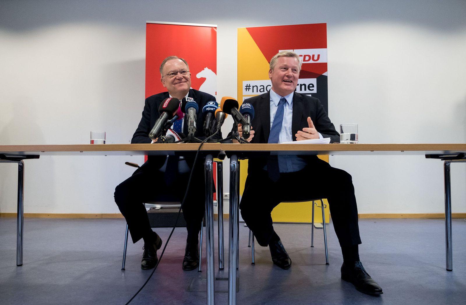 Große Koalition/ Niedersachsen