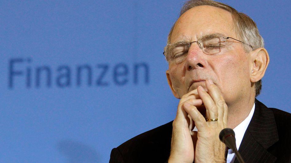Wolfgang Schäuble: Der Finanzminister wollte im Interesse des Landes handeln