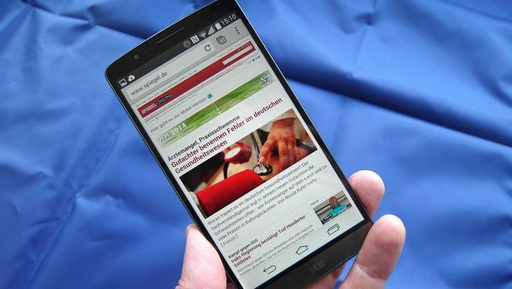 LG G3 im Test: Schöner war Plastik noch nie