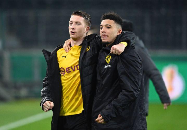 Vorbereiter, Torschütze: Marco Reus und Jadon Sancho
