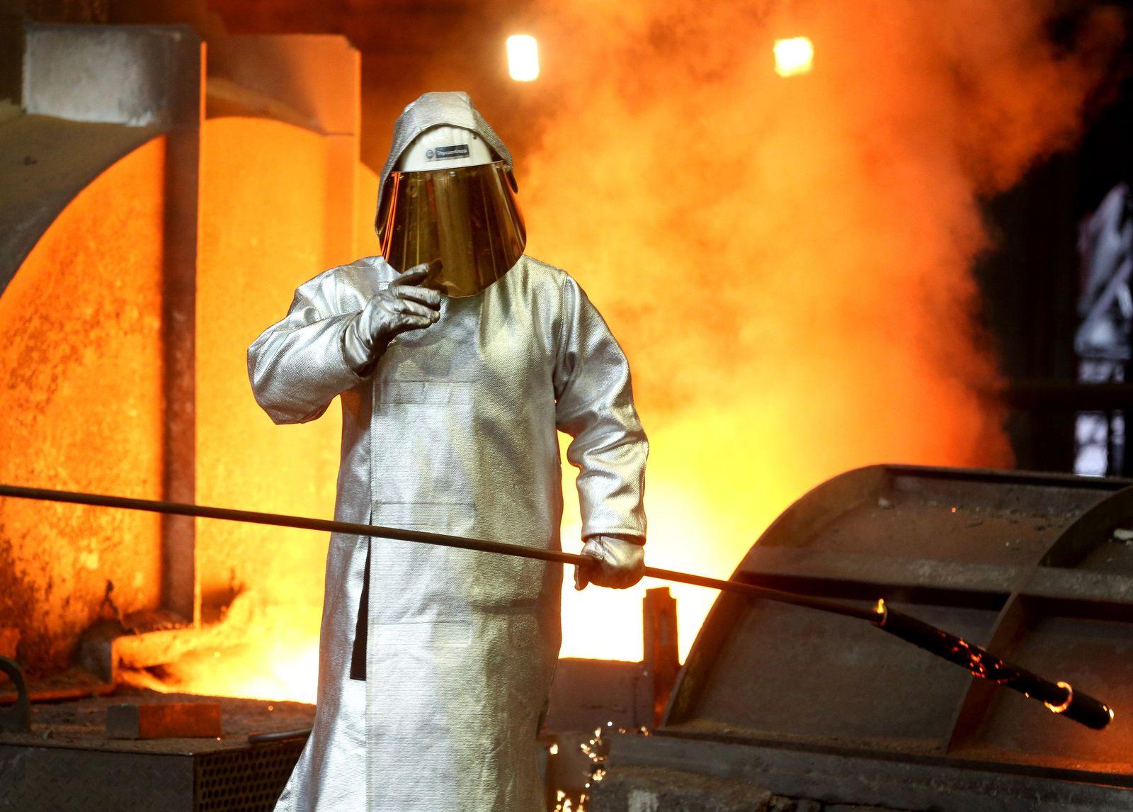 Thyssenkrupp-Gespräche über Stahlfusion