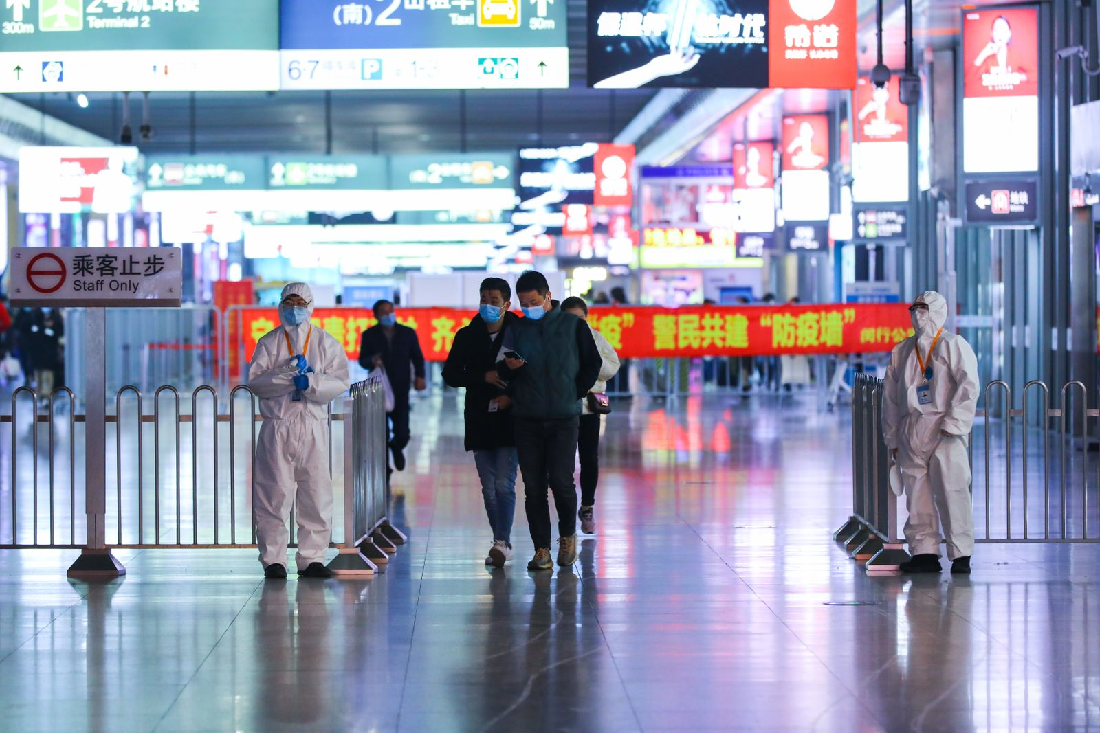 Significantly fewer travelers on first day of chunyun in Shanghai