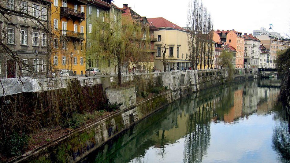 Altstadt von Ljubljana, Slowenien