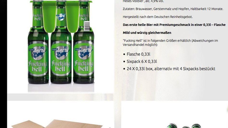 """Biermarke """"Fucking Hell"""": Namensvetter scheiterte mit Markenklage"""