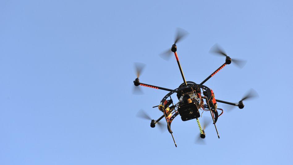 Späher: Privatflüge mit Drohnen unter fünf Kilo sind ohne Genehmigung möglich