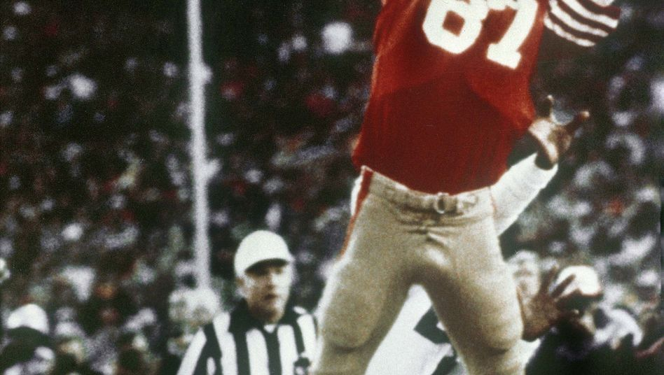 "Dwight Clark vollbringt ""The Catch"""