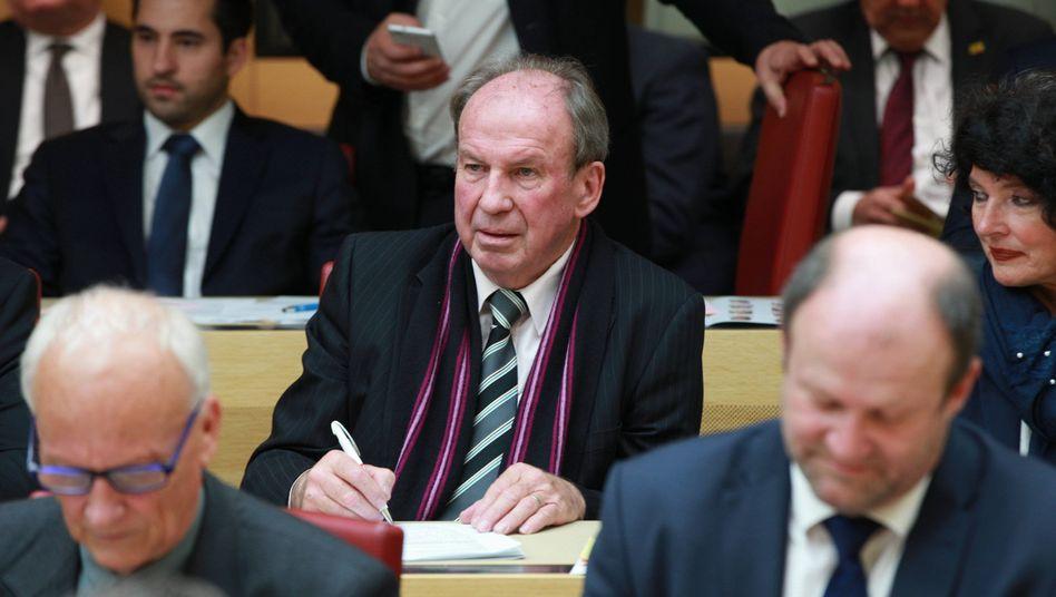 Raimund Swoboda im Landtag: Sturköpfig und etwas seltsam