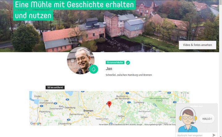 Müller-Scheeßels Profil bei Enyway
