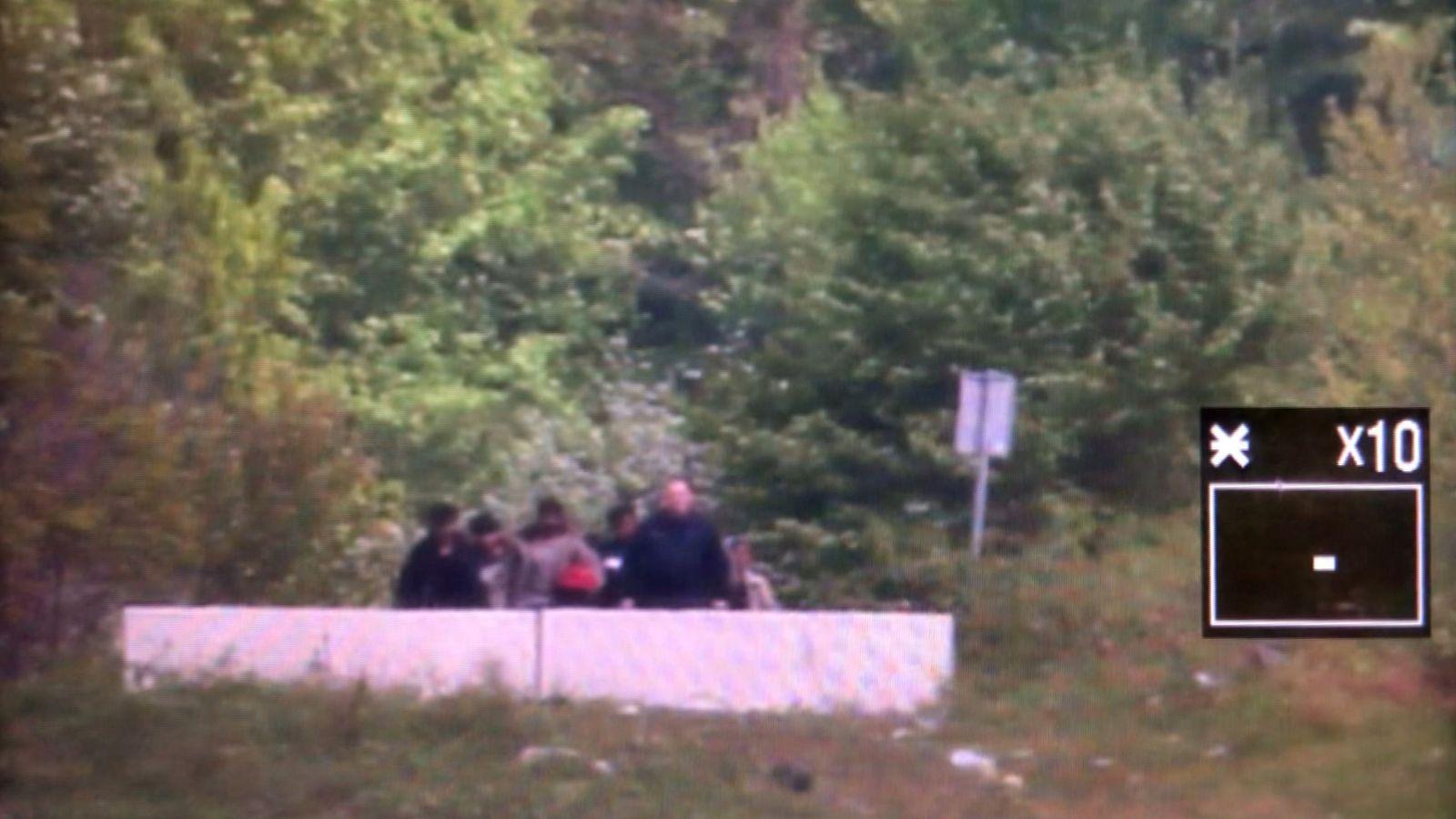 EINMALIGE VERWENDUNG Push Backs/ Grenze Kroatien