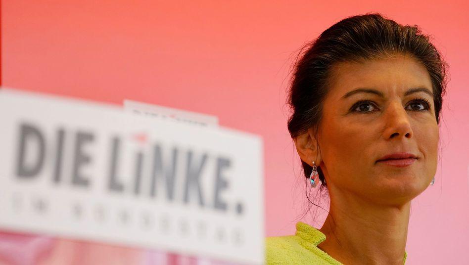 Linkenpolitikerin Sahra Wagenknecht