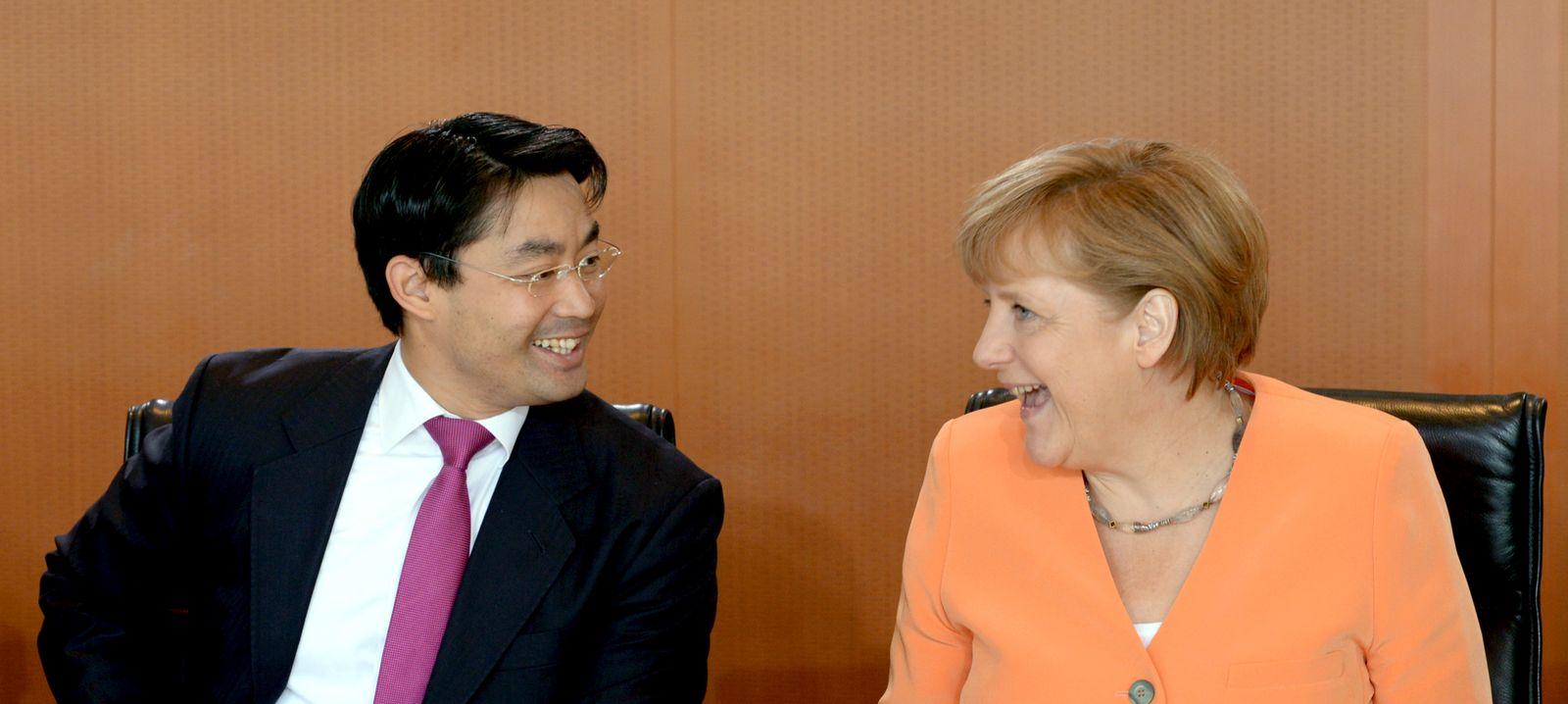 Rösler/ Merkel